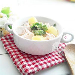 Resep Sup Kentang Tahu Cerita Mami Kenzie Sup Kentang Resep Sup Resep Makanan Bayi