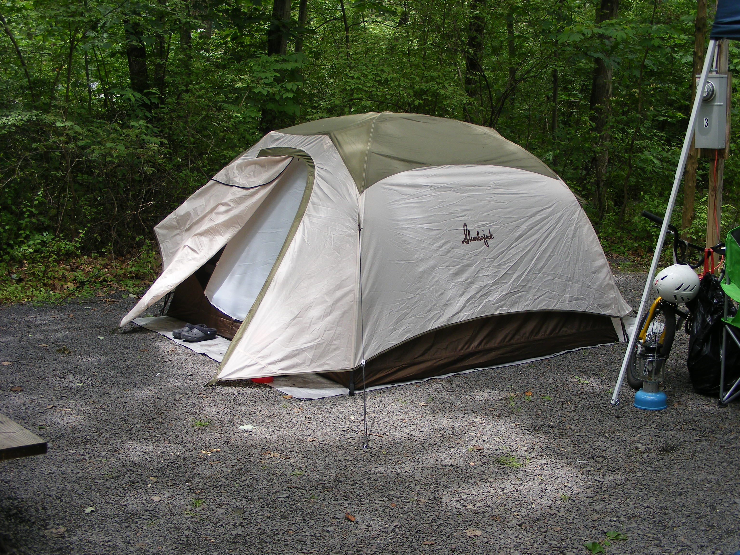 Our Slumberjack Trail 4 Tent Survived another brutal storm and kept us bone dry & Our Slumberjack Trail 4 Tent Survived another brutal storm and ...
