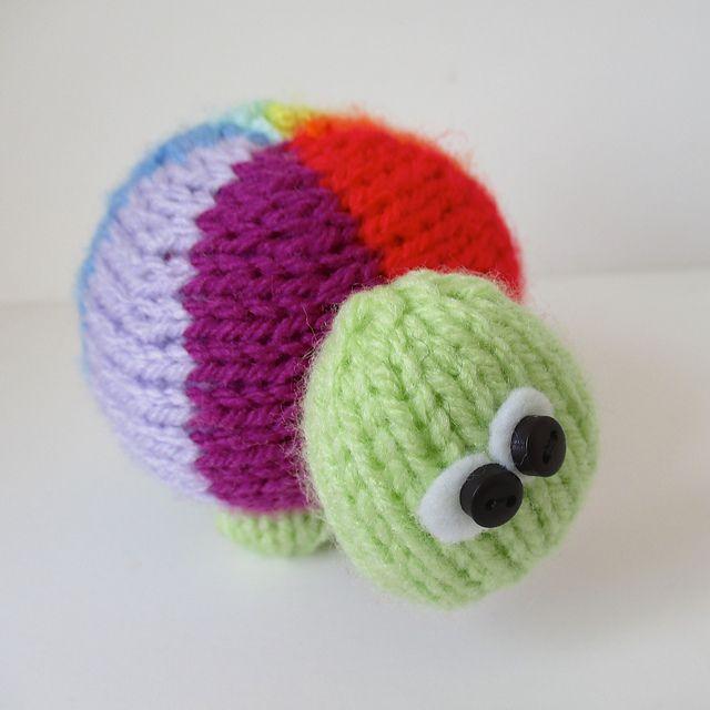 Ravelry: Rainbow Tortoise pattern by Amanda Berry   AMIGURUMI ...