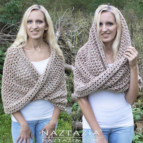 Easy Crochet Women s Sweater W | crochet | Pinterest | Puntadas ...