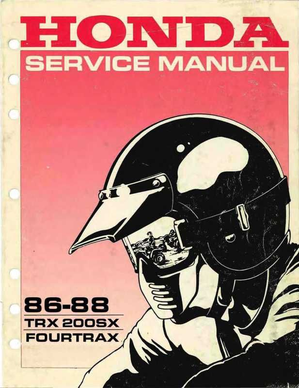 Original Honda Service Manual Is Indexed And Searchable