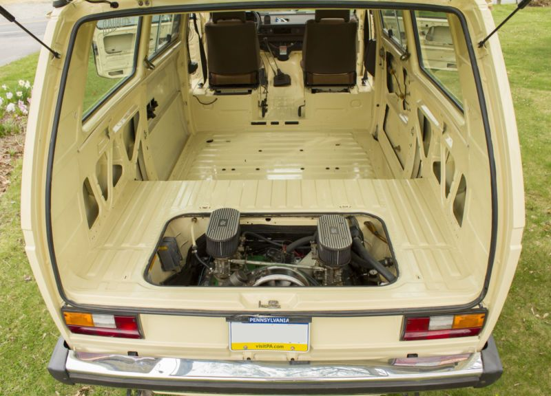 volkswagen vanagon westfalia chassis   stripped   painted