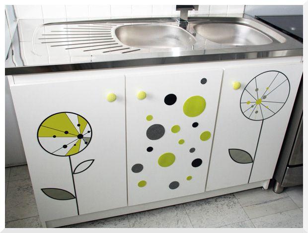 foyer doux foyer home sweet home customiser un meuble sous vier bougival pinterest. Black Bedroom Furniture Sets. Home Design Ideas