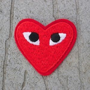 Sale Commes Des Garçons Heart Eye Patch Eyepatch Patches Comme Des Garcons