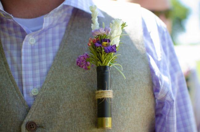 Shotgun shell for groom and groomsmen