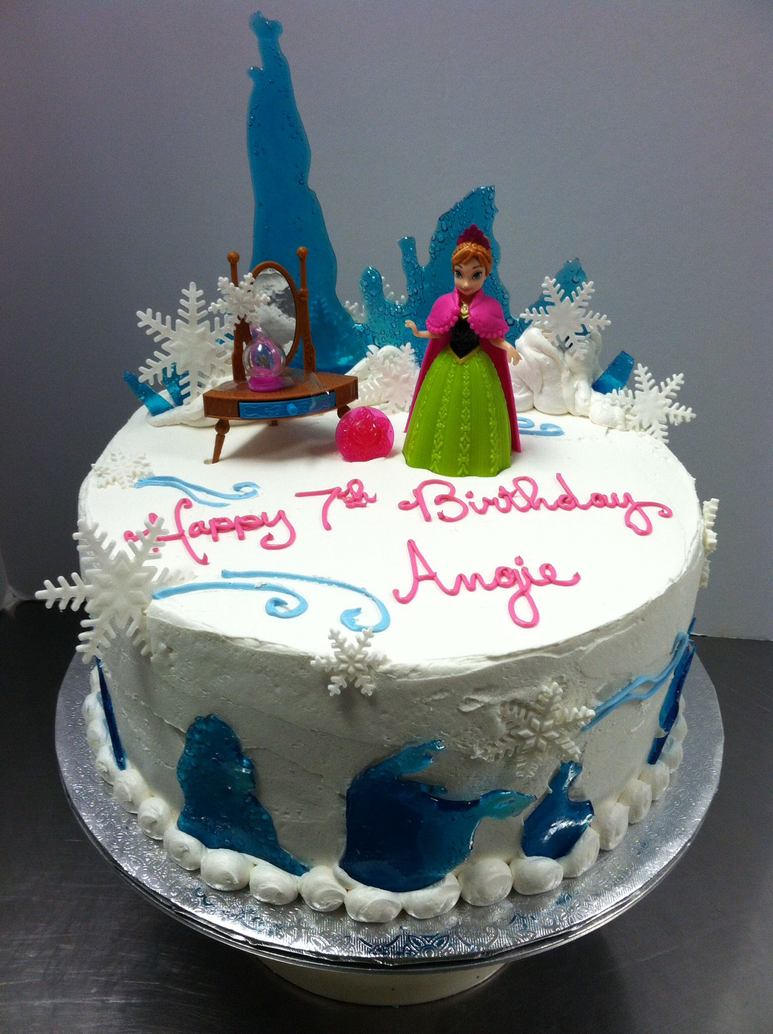 Disneys frozen cake For all your cake decorating supplies