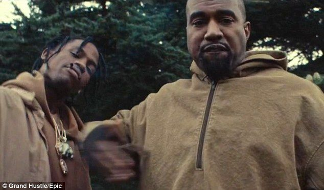 Kanye West And Travis Scott Star In New P On Your Grave Video Kanye West Kanye West Songs Kanye