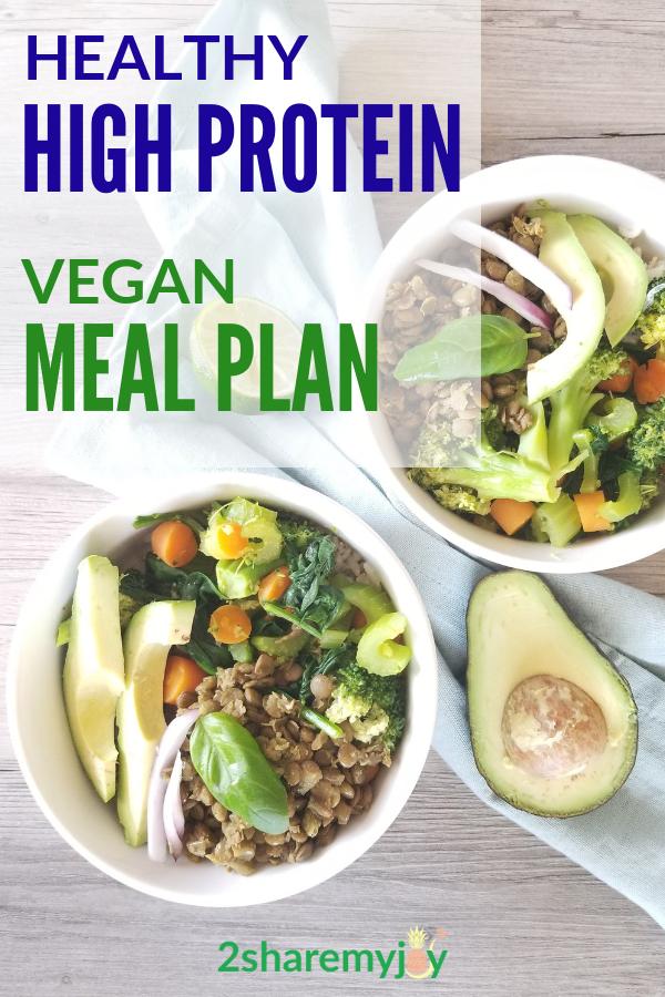 High Protein Vegan Meal Plan (2.200 Kalorien)   – Vegan Meal Plans and Meal Prep