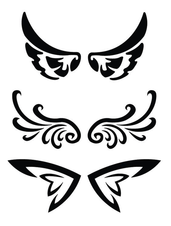 Wing Tattoos I Like Tattoos Tribal Tattoos Tattoo
