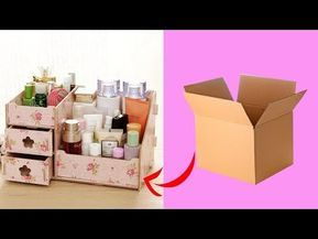DIY makeup Storage And Organization | Makeup Organizer Ideas -   18 diy Box makeup ideas