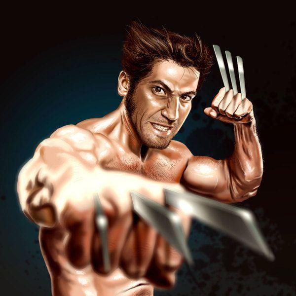 Jon Bernthal as Wolverine | X-Men Re-cast by David Lewis, via Behance