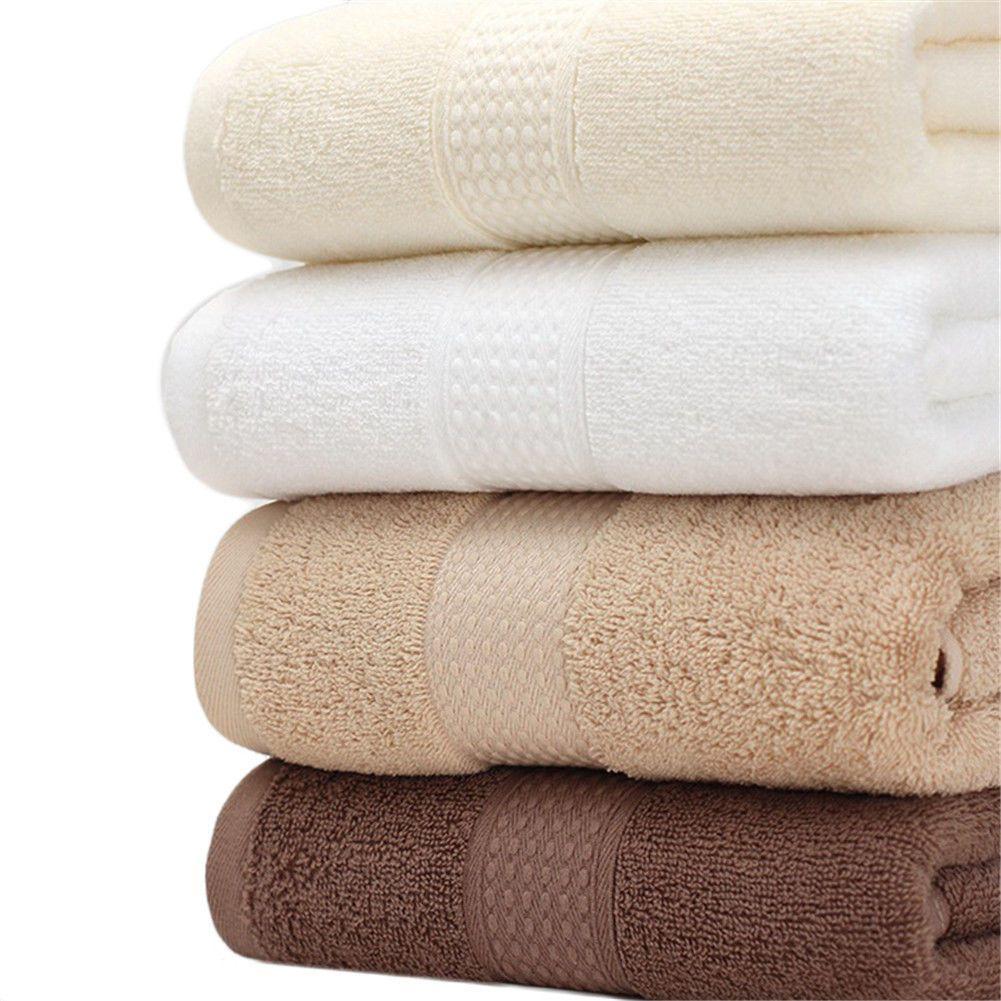 Pcsset luxury soft hair face hand bathroom bath towel set