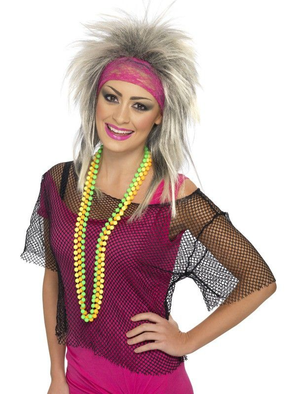 Pleasing 80S Fashion 80S Style String Vest A Great Top For A 80S Or Short Hairstyles For Black Women Fulllsitofus