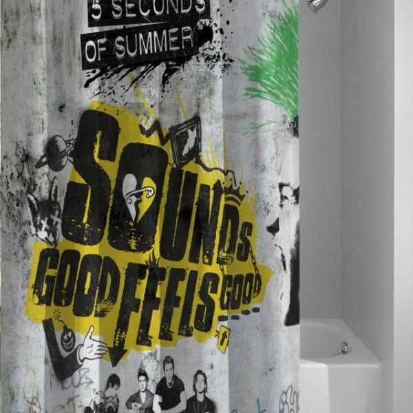 5 Seconds Of Summer Sounds Good Feels Good Album Cover Shower
