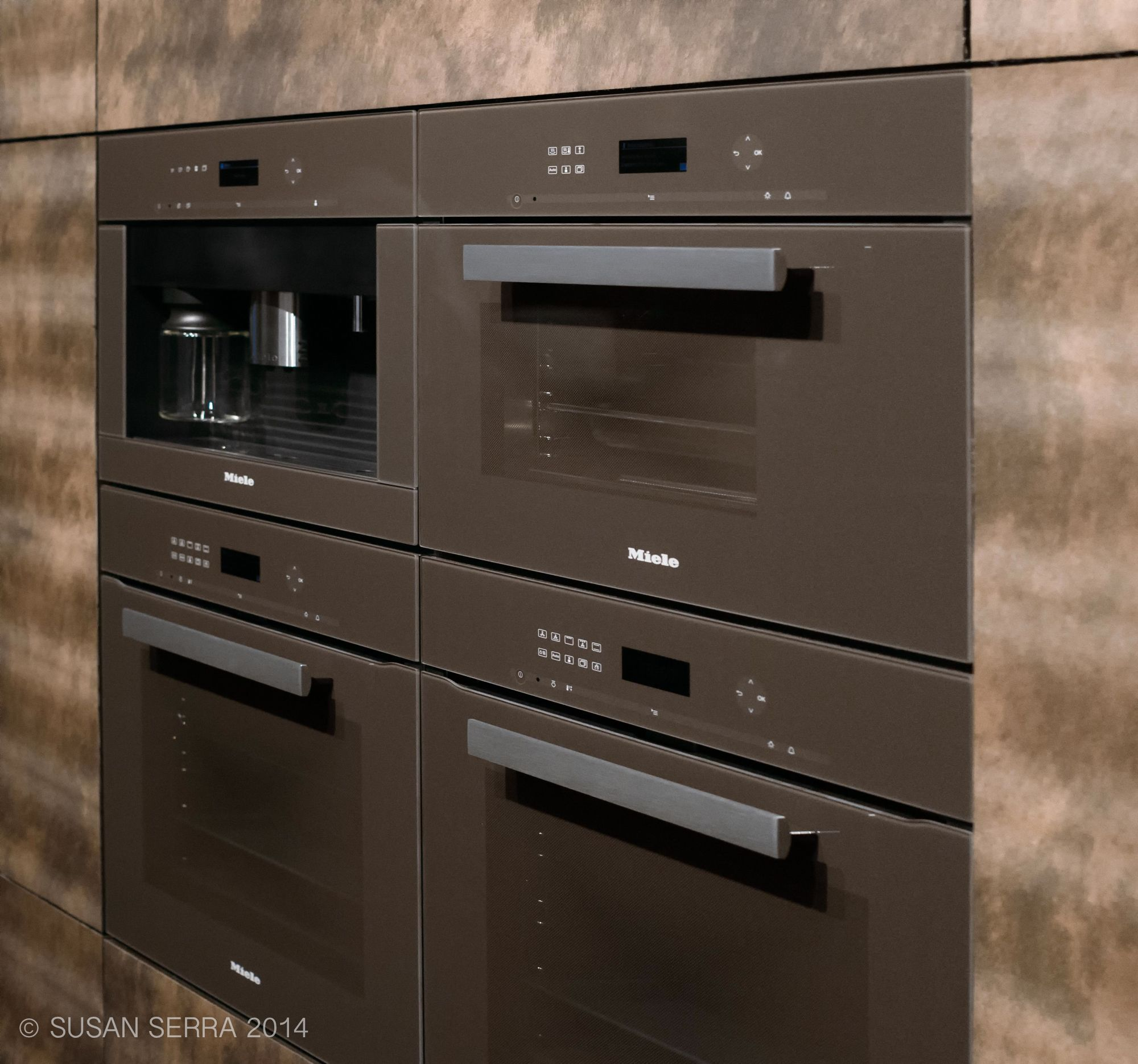 Warm Modern Appliances Trend - Warm colors, glass fronts, beautiful ...