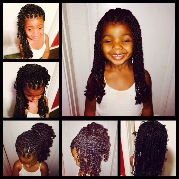 Terrific Big Senegalese Twists For Little Girls Senegalese Twists Hairstyles For Women Draintrainus