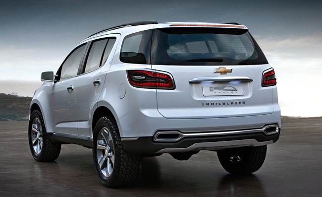2015 Chevrolet Trailblazer Rear View Chevrolet Trailblazer
