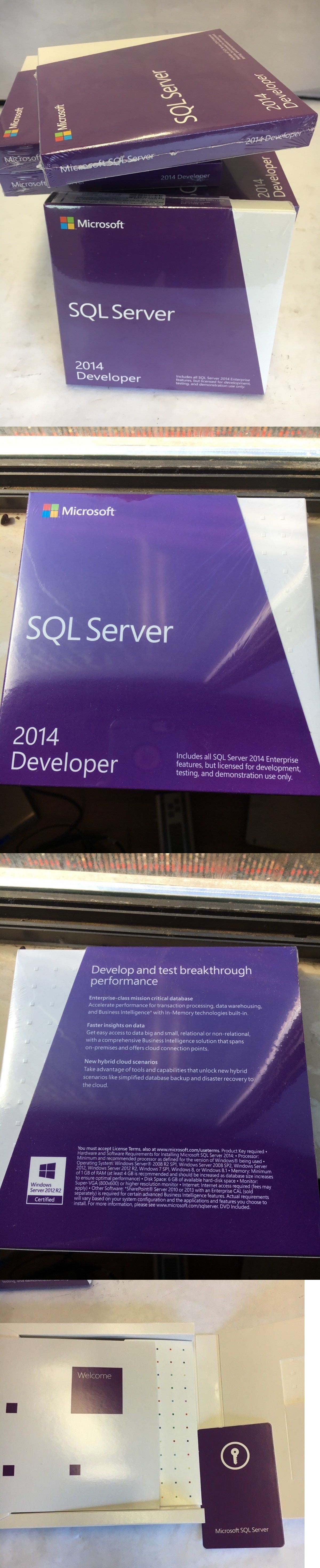 Servers Development and DBMS 80356: Microsoft Sql Server