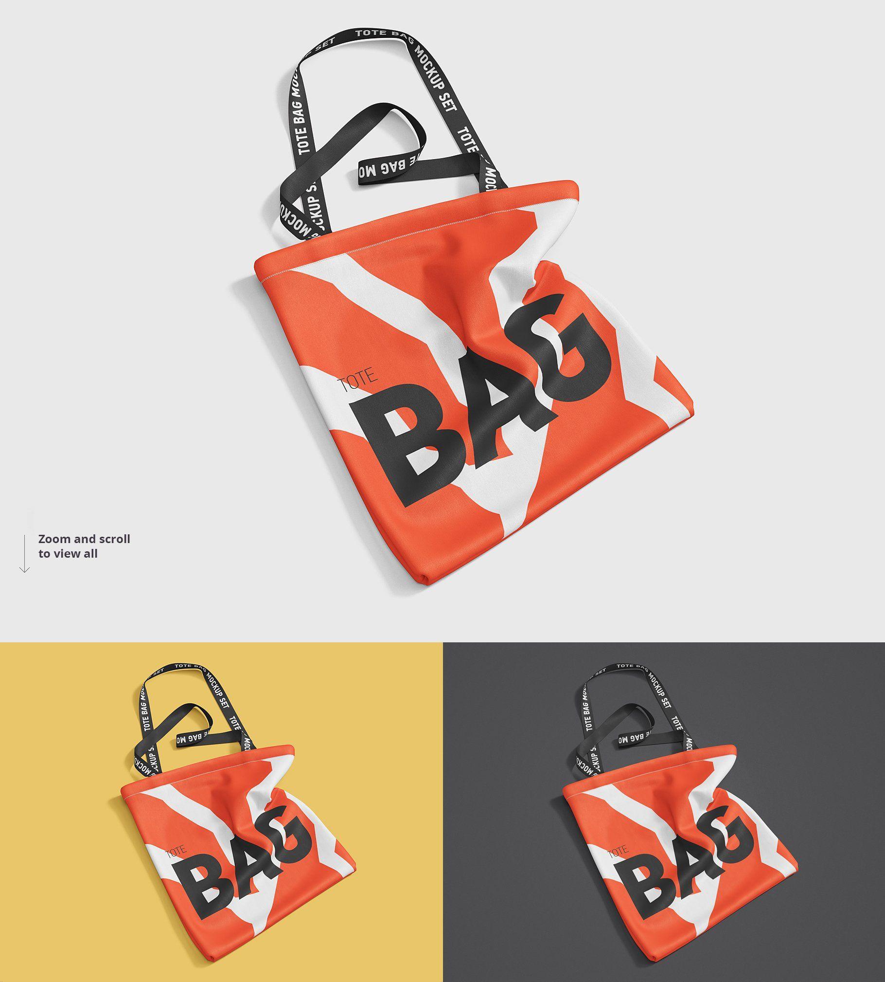 Download Tote Bag Mockup Bag Mockup Bags Printed Tote Bags
