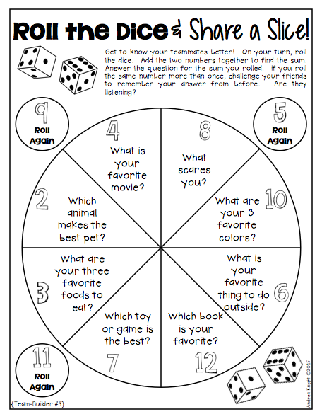Dice Discussions Differentiated Prompts For Engaging Discussion K