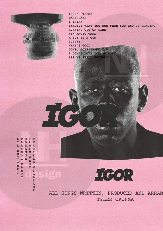 tyler the creator igor poster poster