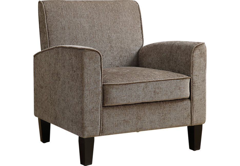 Awe Inspiring Margate Taupe Accent Chair Accent Chairs Beige Dailytribune Chair Design For Home Dailytribuneorg