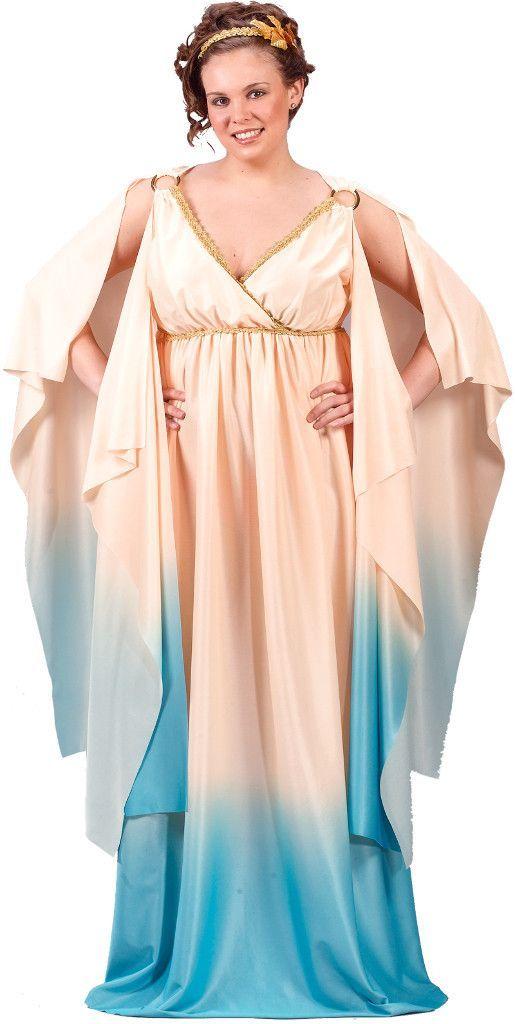atlantis goddess adult plus costume