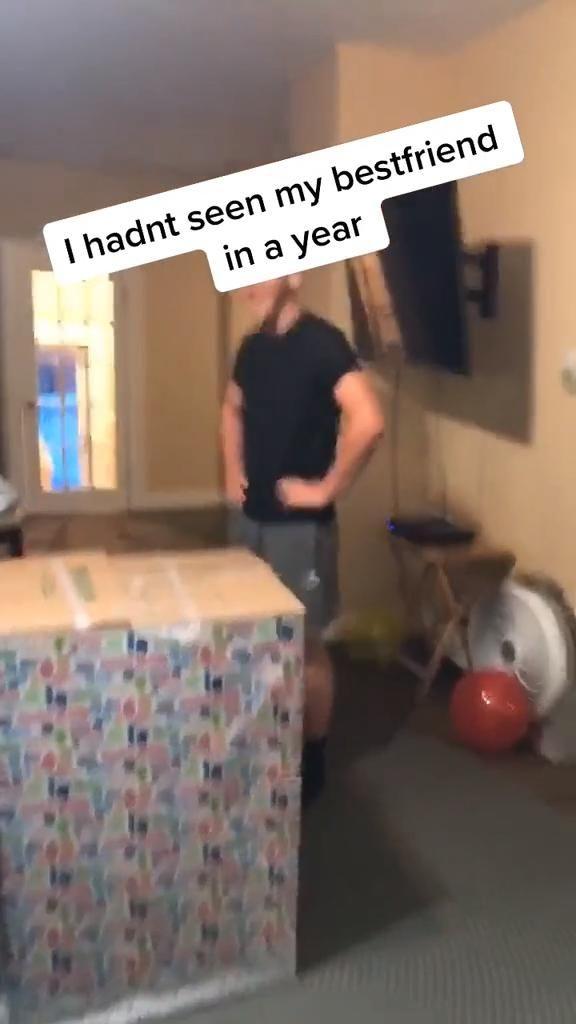Best friend as a birthday gift