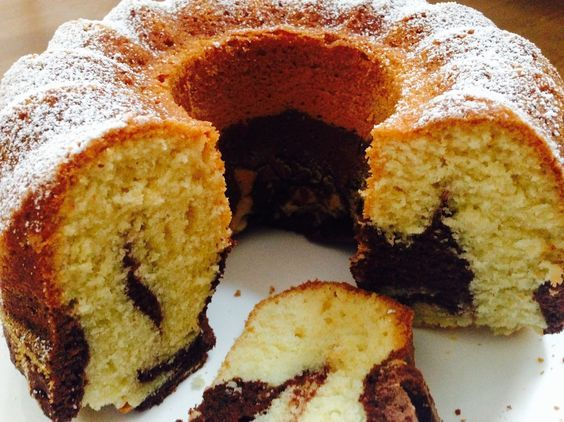 Marmorkuchen Low Carb