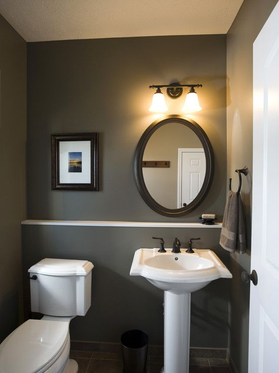 Genial Powder Room Pedistal Sink Powder Room Design, Pictures, Remodel, Decor And  Ideas