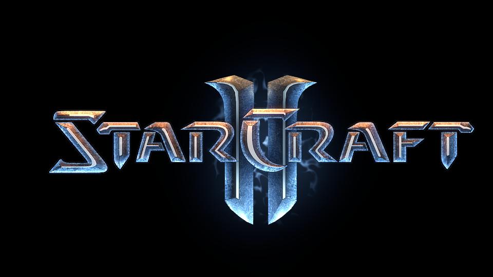 Recreate The Starcraft 2 Logo Blender Guru Starcraft Blender Tutorial 3d Text Effect