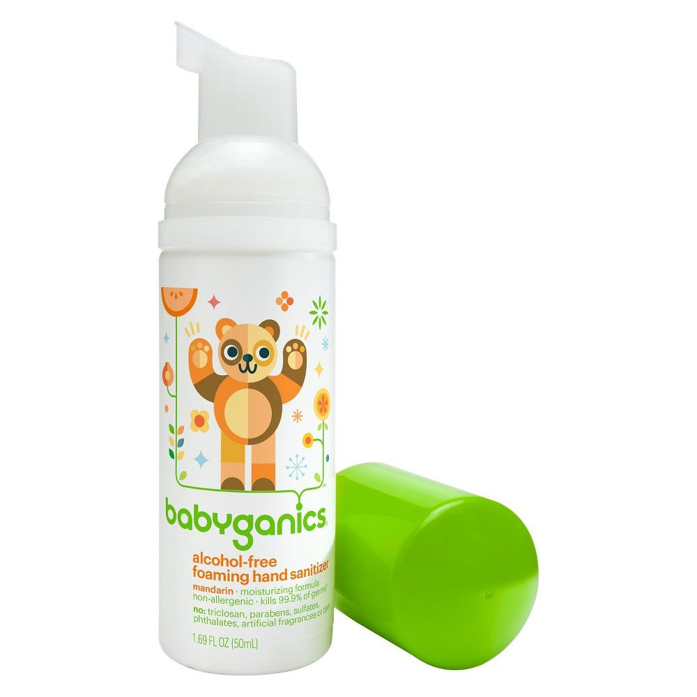 Babyganics On The Go Alcohol Free Foaming Hand Sanitizer