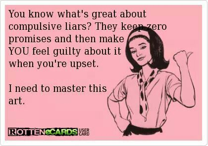word for compulsive liar