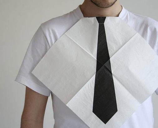 Dressed for dinner napkins