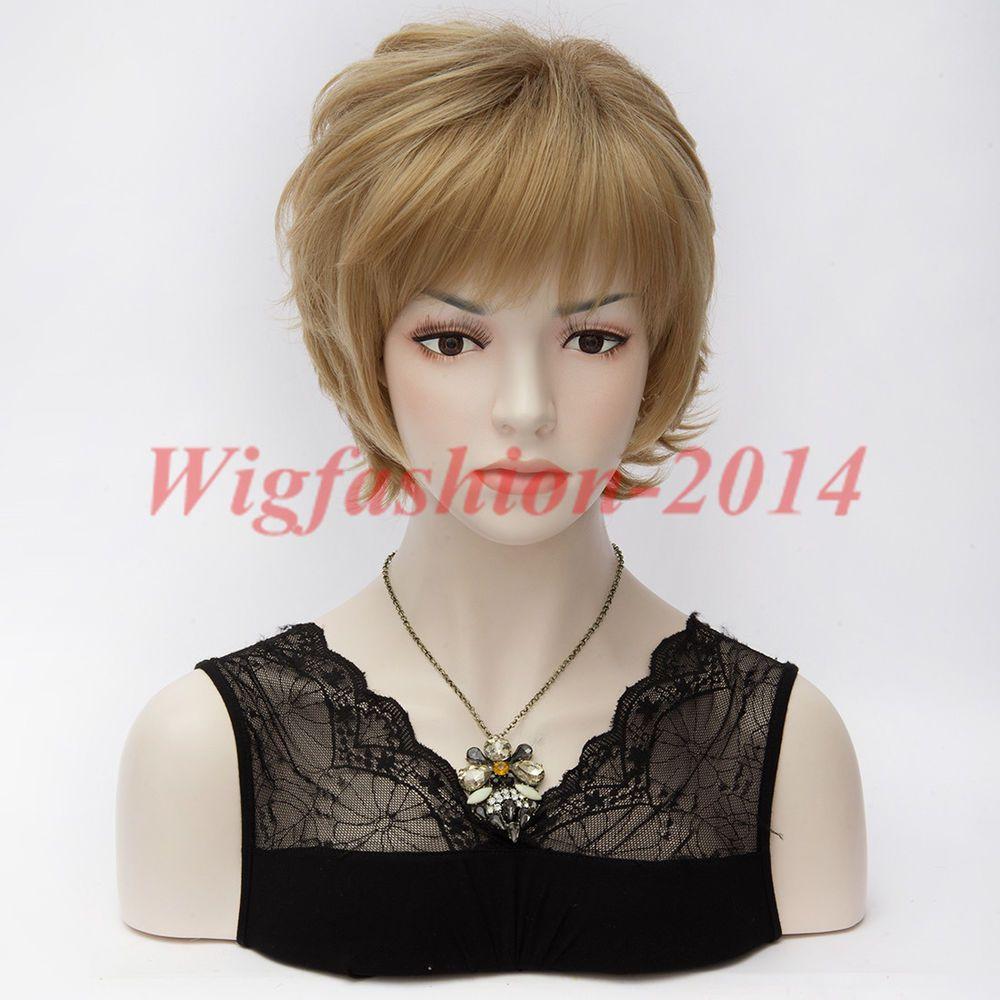 30cm Dark Brown Short Hair For Japanese Anime Your Name Basic