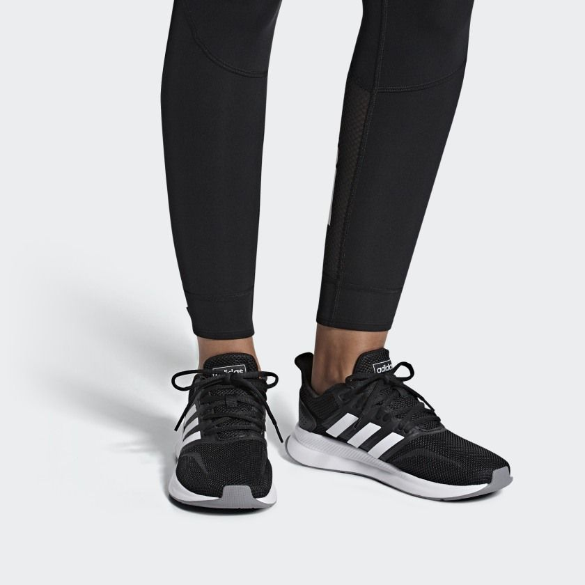 adidas Runfalcon Shoes - Black | adidas US | Adidas shoes women ...
