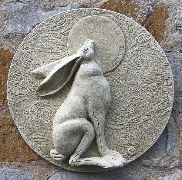 Garden Wall Plaques Animal Wall Plaques Hare Wall Plaque