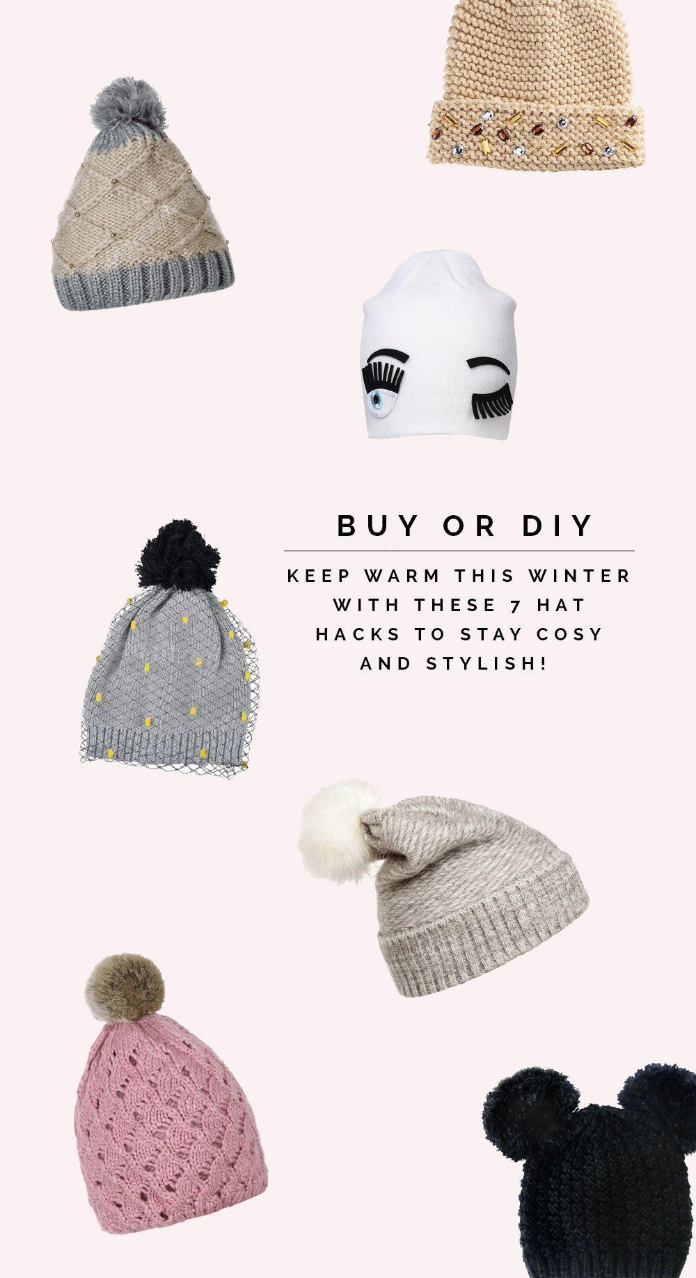 Купить или сделай сам |  Семь зимних шляп, которые сделают вас уютными и стильными |  Падение для DIY