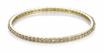 Rough Cut Diamond Bracelet By Belloria 3125 00 4 40ctw Diamonds