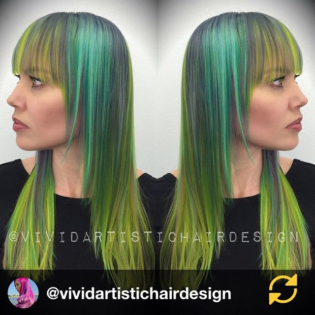 It was -1* this morning at 6 am. C'mon spring! #springgreen RG @vividartistichairdesign: Steel grey, Tiffany blue and Chartreuse were just my flavors for yesterday's class ;) I LOOOVE grey/silver and these shades together. Thanks for being open and trusting me @jennyluvv Austin class at @vainaustin was so much fun. Thanks for your support ladies  #austin #education #educator #model #vividhair #vivid #vivideducation #hair #hairlove #hairofig #hairpics #haircolor #hairmodel #hairstyles…