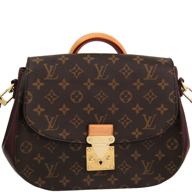 Buy Louis Vuitton Bordeaux Monogram Canvas Eden MM Bag