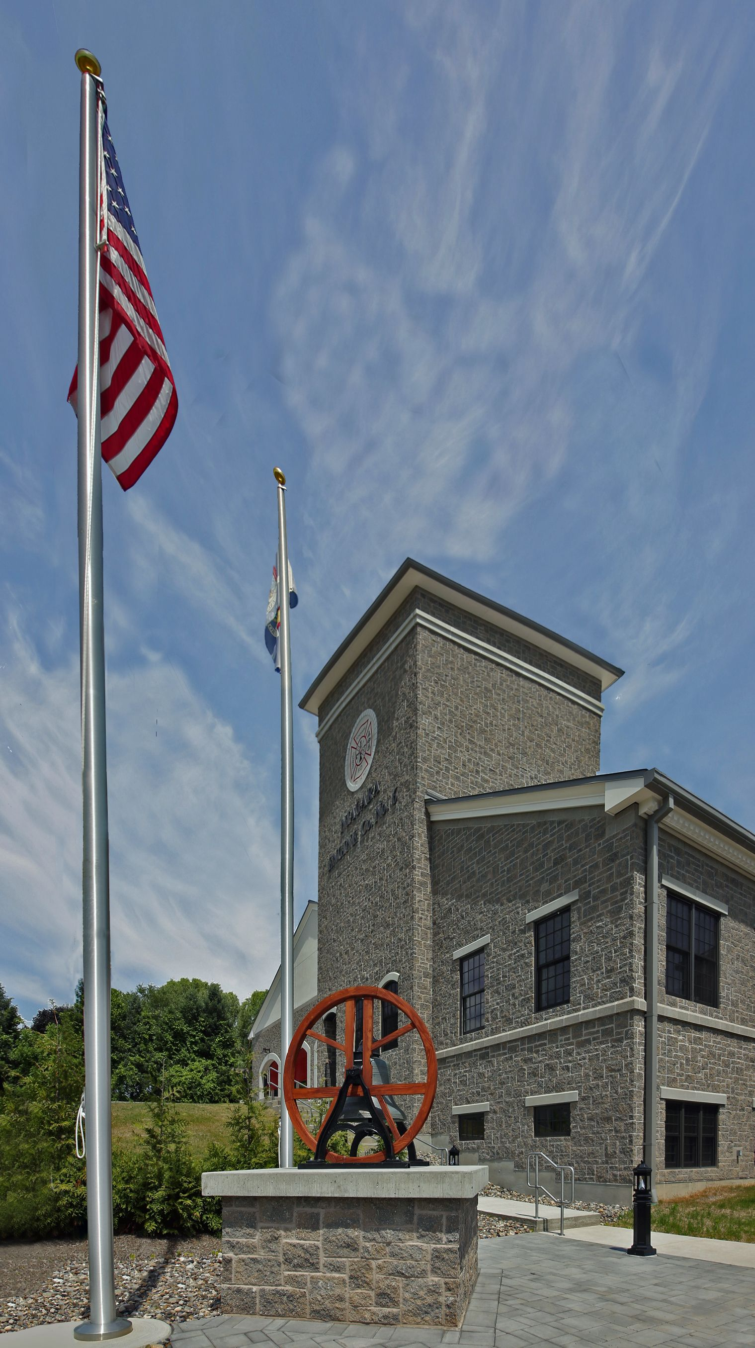 Home Fire station, Historical architecture, House fire