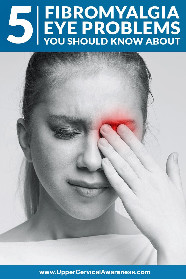 5 Fibromyalgia Eye Problems You Should Know About