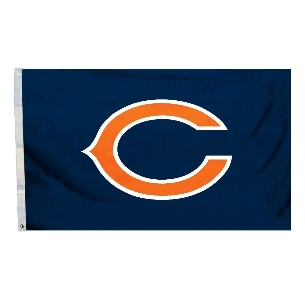 This officially licensed Chicago Bears flag is made of durable 100% polyester…