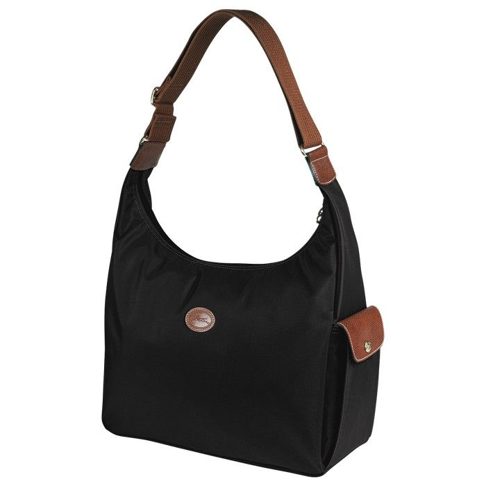 2a545f7ca3c5e LONGCHAMP LE PLIAGE HOBO BAG BLACK - LONGCHAMP