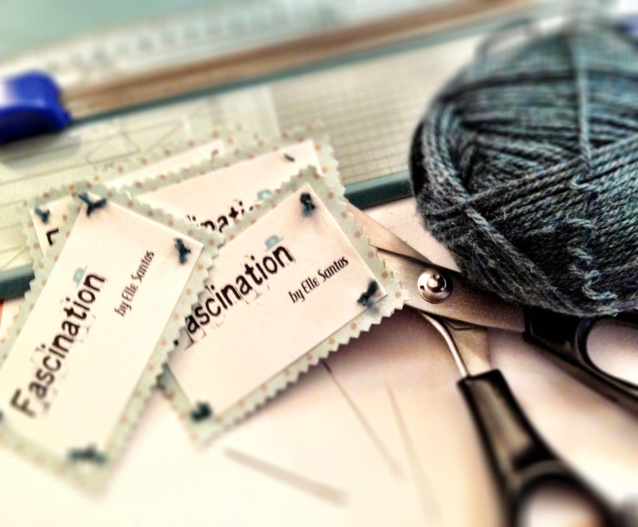 handmade business cards hadmade craft etsy fabric