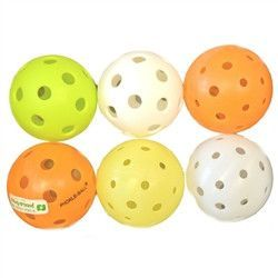 Variety of Pickleballs-6 Pack