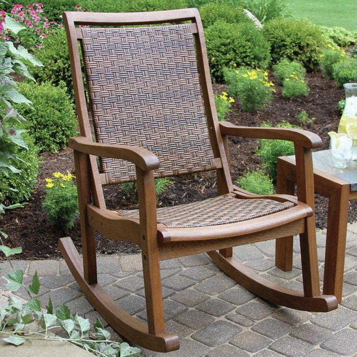 newest collection 501c2 396de Norton Rocking Chair | Front Porch in 2019 | Patio rocking ...