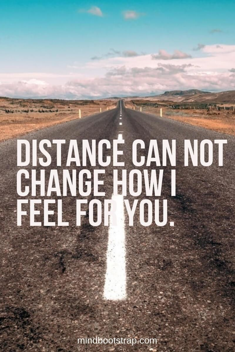 Long Distance Relationship Quotes Distance can not