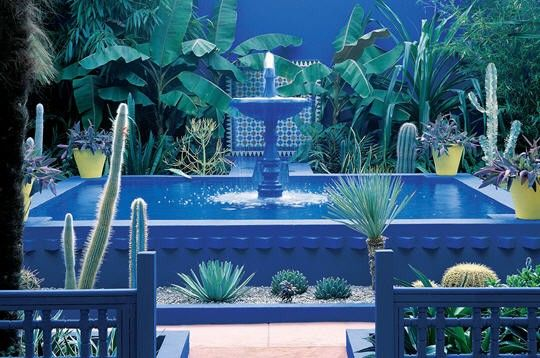 Jardin Majorelle Marrakech Yves Saint Laurent Garden Around